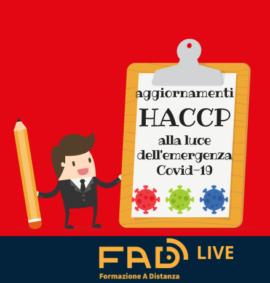 HACCP COVID ter servizi fad